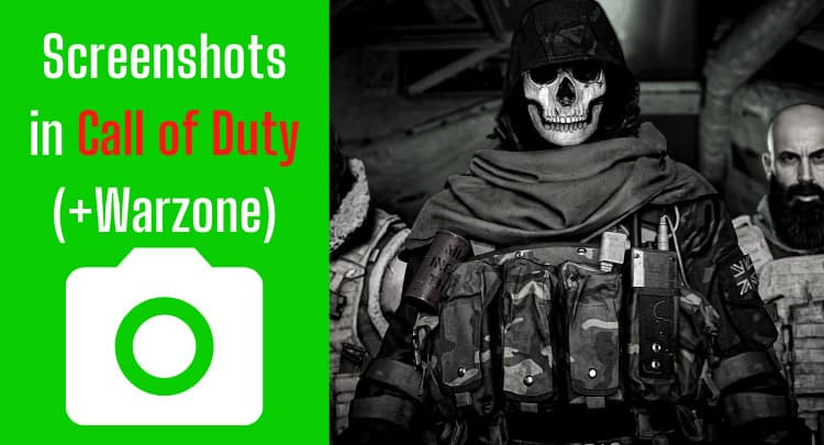 Screenshots in COD (+Warzone) | How, Location, Filetype, Resolution, Print?